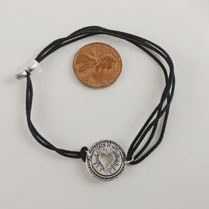 Alex and Ani Silver Kindred Cord Token of Love